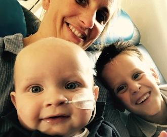 Wessel, Jurjen & mama op weg naar Frankrijk