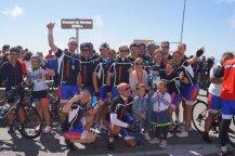 Team Wessel op de Mont Ventoux