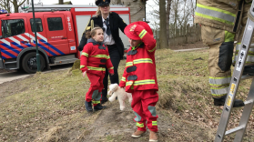 Brandweerman en -vrouw